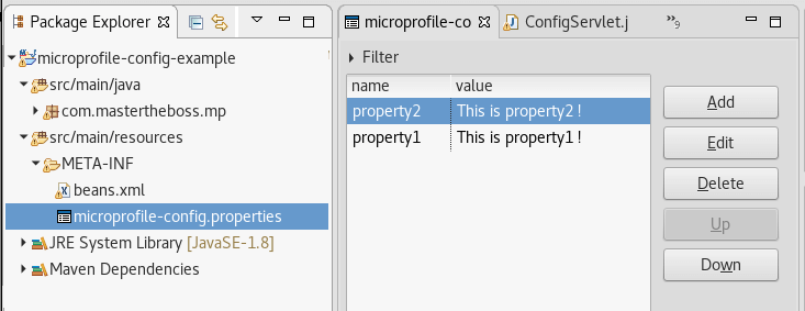 eclipse microprofile wildfly